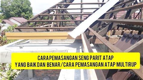 Menutup bocor pada atap,pengecatan anti karat atap seng spandek,rembes,menutup atap bocor. Rumah Idaman: Atap Seng