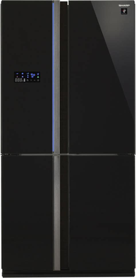 side by side kühlschrank schwarz sharp sjfs820vbk side by side k 252 hlschrank schwarz in