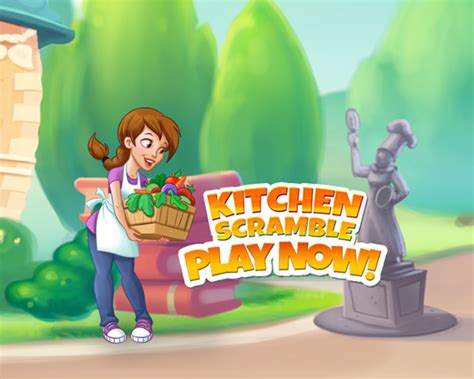 jeu kitchen scramble test screenshots et