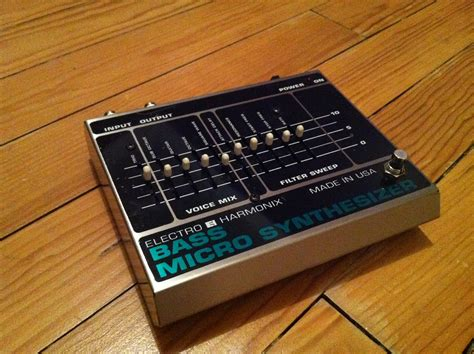 electro harmonix micro synth sound templates bass micro synthesizer