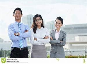 Young Business Team Stock Photo - Image: 81895095