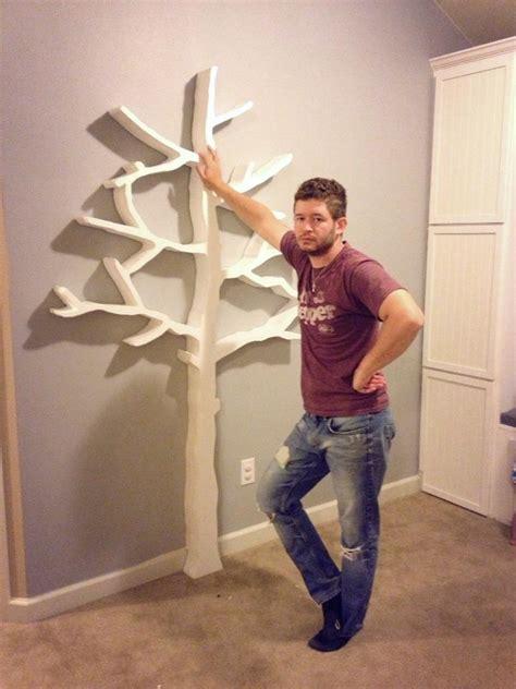 Tree Bookcase Ikea by Walls Construction Diy Tree Bookshelf