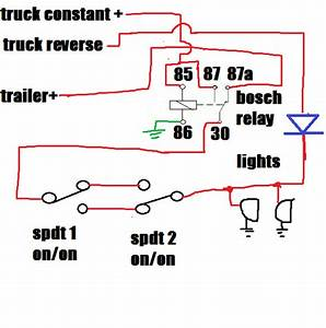 Trailer Wiring With Diode