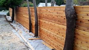 Image Gallery horizontal cedar fence