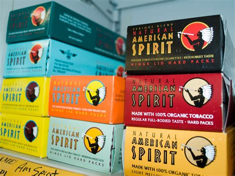american spirits colors american concepts in commercial packaging aliso93