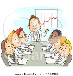 Medical Staff Meeting Clip Art