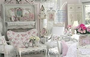 Shabby Chic Mode : 37 dream shabby chic living room designs decoholic ~ Markanthonyermac.com Haus und Dekorationen