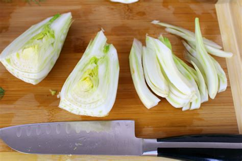 chopping fennel how to prepare fennel three ways genius kitchen