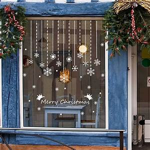 Fenster Weihnachtlich Gestalten : fenstersticker fenster deko winter advent weihnachten ~ Lizthompson.info Haus und Dekorationen