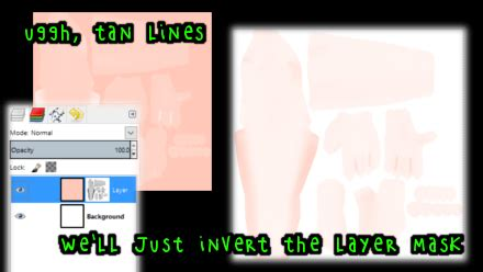 gimp invert colors mmd textures with blender