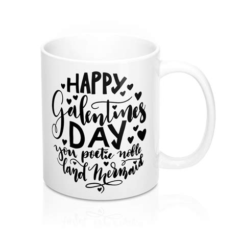 Happy Galentine's Day - Leslie Knope Inspired Coffee Cup ...