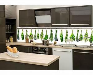 Folie Für Küchenrückwand : k chenr ckwand folie kr uter 260 x 60 cm dimex ~ Lizthompson.info Haus und Dekorationen