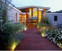 Front Yard Walkway LightingModern LandscapingAndrew Grossman Landscape LED Outdoor Lighting Exterior Backyard Light Fixtures Trex Landscape Lighting Alt Landscape Lighting Ideas Landscape Lighting Landscaping Network