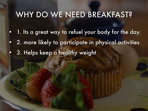Importance Of Eating Breakfast Journal Articles