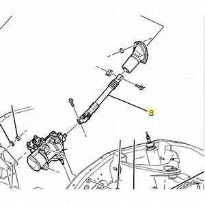 Lower Steering Shaft  2001