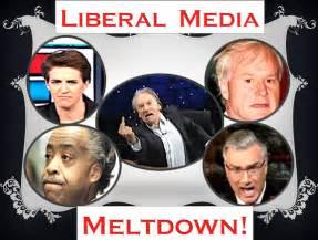 Liberal Media Melt Down
