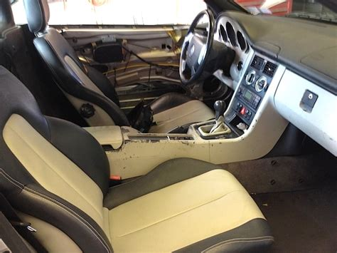 mercedes benz slk painting interior plastic the hog ring