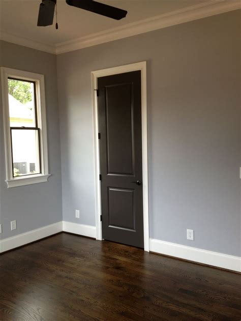 Interior Paint Colors Sherwin Williams by Sherwin Williams Lazy Gray And Urbane Bronze On Doors And