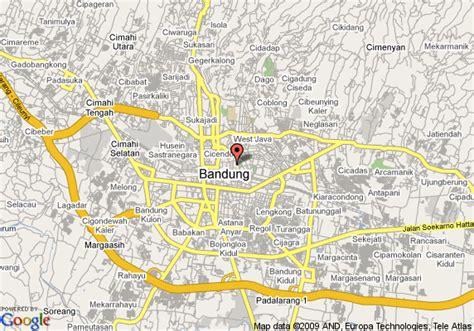 map  hyatt regency bandung bandung