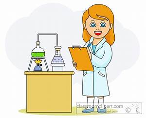 Scientist clipart science teacher - Pencil and in color ...