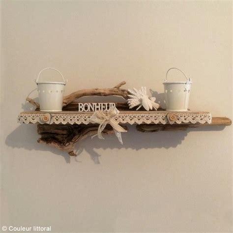 grille murale cuisine diy etagère déco en bois flotté idées et conseils décoration