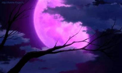 Moon Purple Celestial Goddess Outdoors