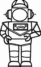 Robot Coloring Pages Astranout Lego Printable Print Wecoloringpage Cartoon sketch template