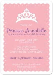 Free Printable Princess Party Invitation Template