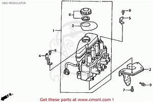 Honda Accord 1992  N  2dr Ex  Ka Kl  Abs Modulator