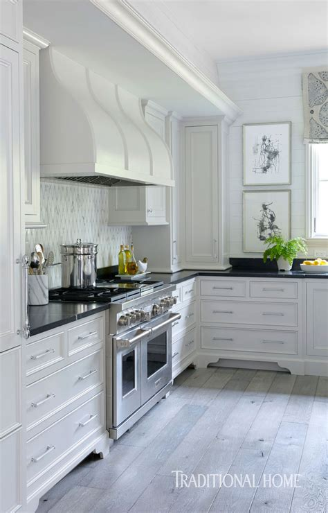 Pretty Kitchen In Quiet Colors  Traditional Home