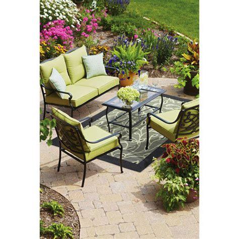 hillcrest conversation replacement cushion set garden winds