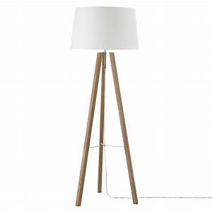 tripod wood floor lamp natural white house ideas pinterest With kitty tripod white wood floor lamp