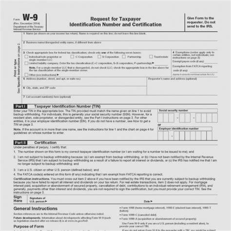 www irs gov formspubs w9 universal network
