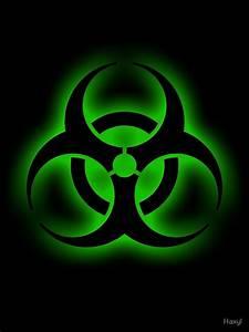 U0026quot Toxic Biohazard Sign U0026quot  By Haxyl