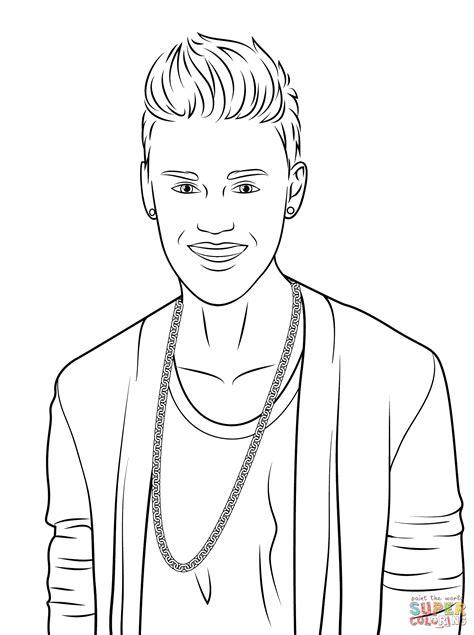 Ed Sheeran Kleurplaat by Justin Bieber Coloring Page Free Printable Coloring Pages