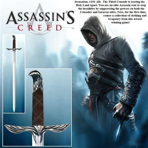 Altair Assassins Creed Sword And Scabbard