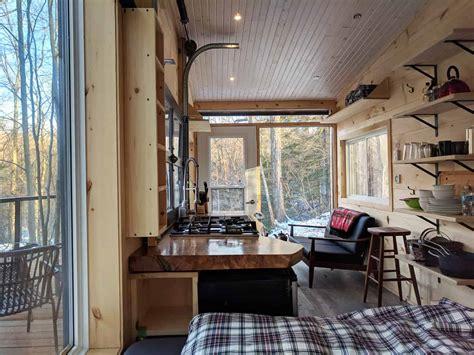 modernminimalist tiny cabin vacation  dashi cabin  cabinscape