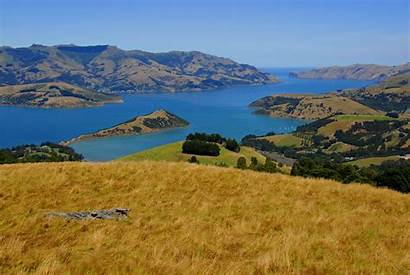 Zealand Plains Canterbury Akaroa Geography Easy Christchurch