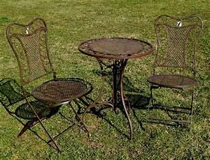 Gartentisch Mit 2 Stühlen : exklusive sitzgruppe eliza gartentisch mit 2 st hlen gartengarnitur sehr stabile ~ Frokenaadalensverden.com Haus und Dekorationen