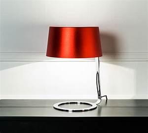 Lampada Da Tavolo Rossa Media LA/033/BR Duzzle