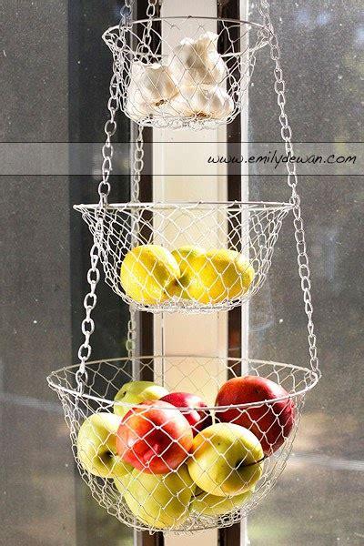 hanging baskets for kitchen emily dewan photography inc hanging basket of fruit
