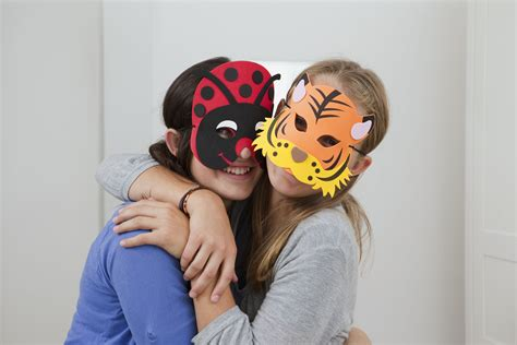 printable halloween masks   ages