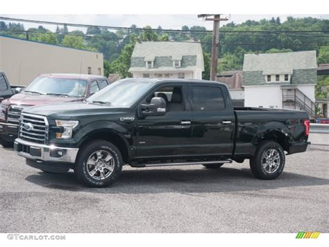 2015 f150 colors 2015 green gem metallic ford f150 xlt supercrew 4x4