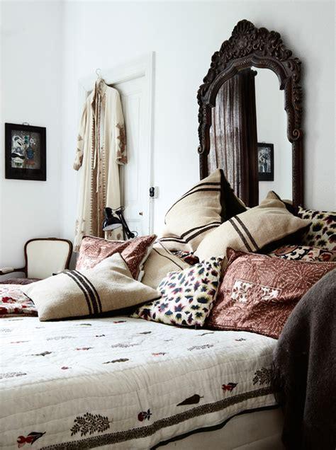 Bohemian Chic Bedroom by Bohemian Chic Apartment In Copenhagen