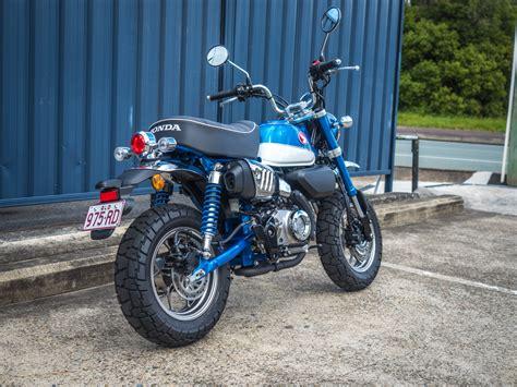 honda monkey 2018 honda monkey 125 2018 glittering blue motorcycles r us