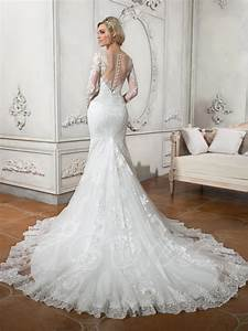 mermaid train wedding dress bridalblissonlinecom With train wedding dress