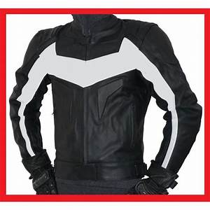 Taille Blouson Moto : blouson moto cuir blanc noir taille m achat vente blouson veste blouson moto cuir blanc ~ Medecine-chirurgie-esthetiques.com Avis de Voitures