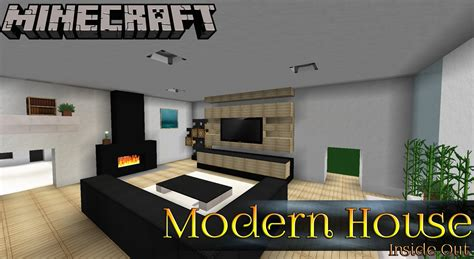 Modern House Ep2 Minecraft Inside Out Youtube Clipgoo