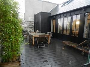 amenagement terrasse exterieure appartement nouveaux With amenagement terrasse exterieure appartement