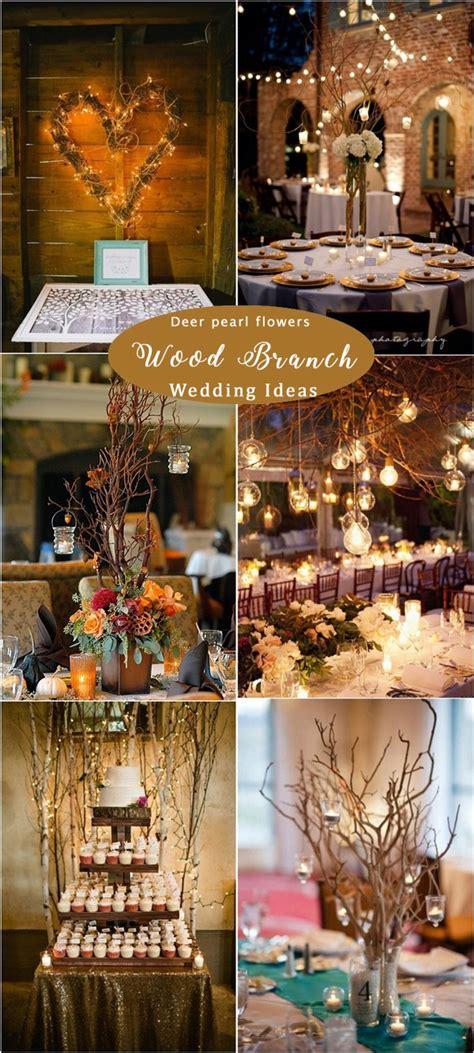 rustic woodsy wedding decor ideas   deer
